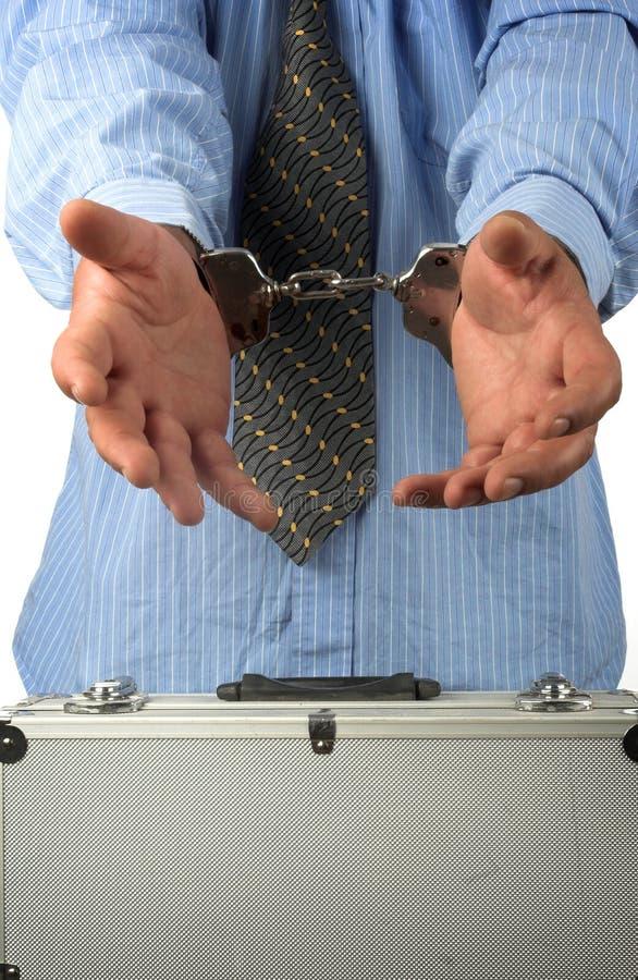 Arrestation photo libre de droits