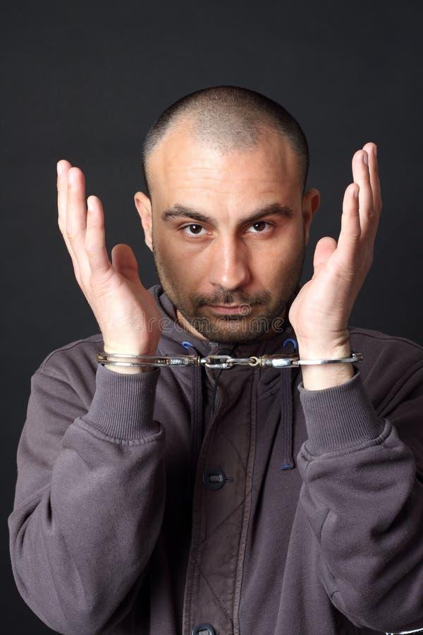 Arrestation photographie stock libre de droits