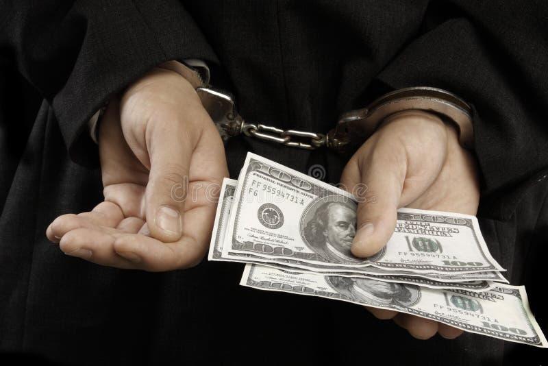 Arrestation image libre de droits