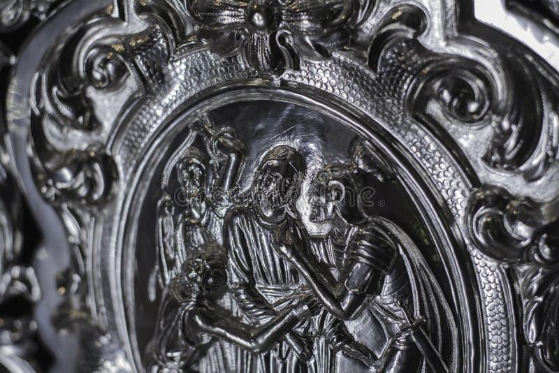 Arrestation de Jésus image libre de droits