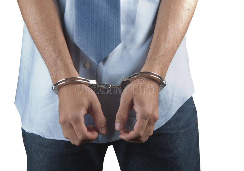 Download Arrested stock photo. Image of arrested, drunk, hands - 19394100