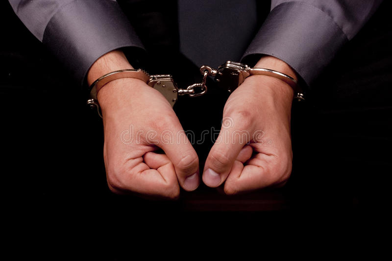 Download Arrested for questioning stock image. Image of caption - 20467125