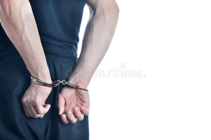 Download Arrested young men stock image. Image of hooligan, illegal - 27874593