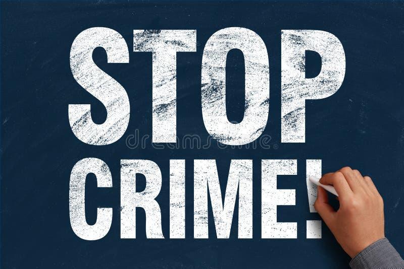 Arresti il crimine immagini stock