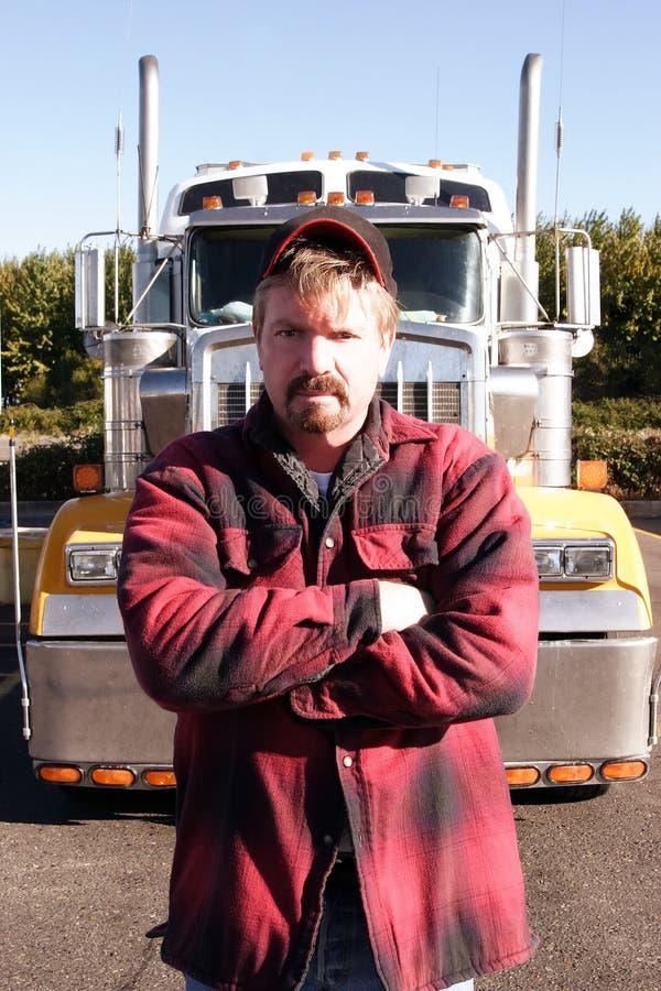 Arresto di camion fotografie stock libere da diritti