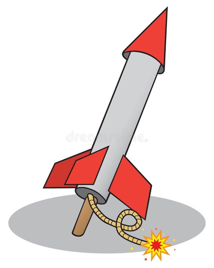 Arrière-cour Rocket illustration libre de droits