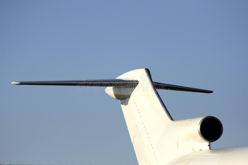 Download Arrière d'aéronefs image stock. Image du atterrissage - 2132783