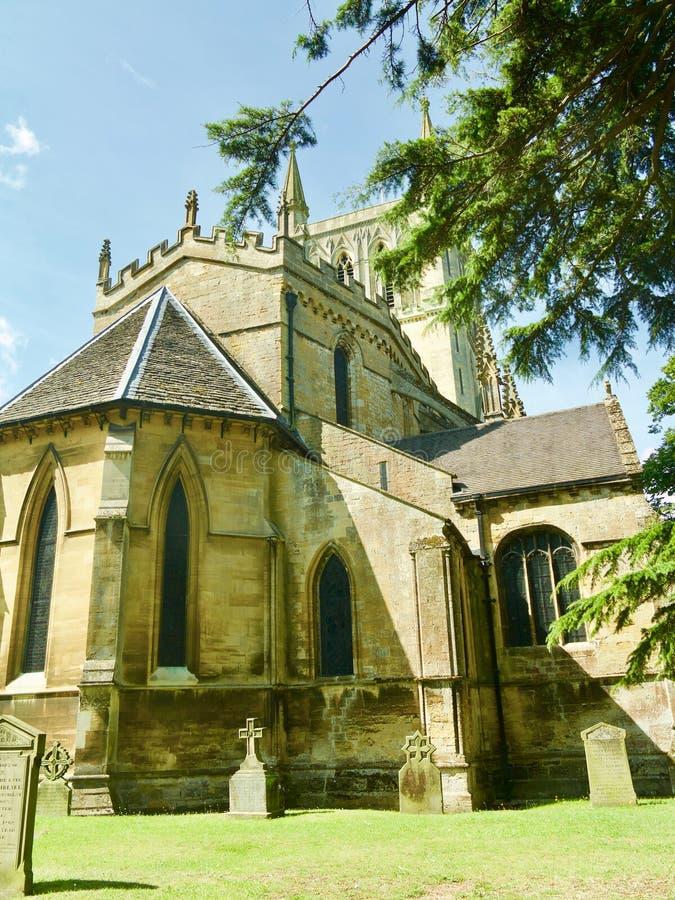Arrière de l'abbaye image stock