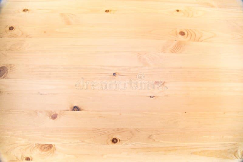 Arrière-plan de la planche de pin brun avec noeuds de structure en bois clair Arrière-plans, structures photo libre de droits