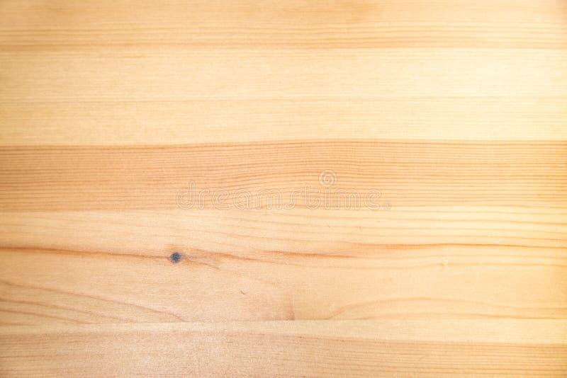 Arrière-plan de la planche de pin brun avec noeuds de structure en bois clair Arrière-plans, structures photos stock