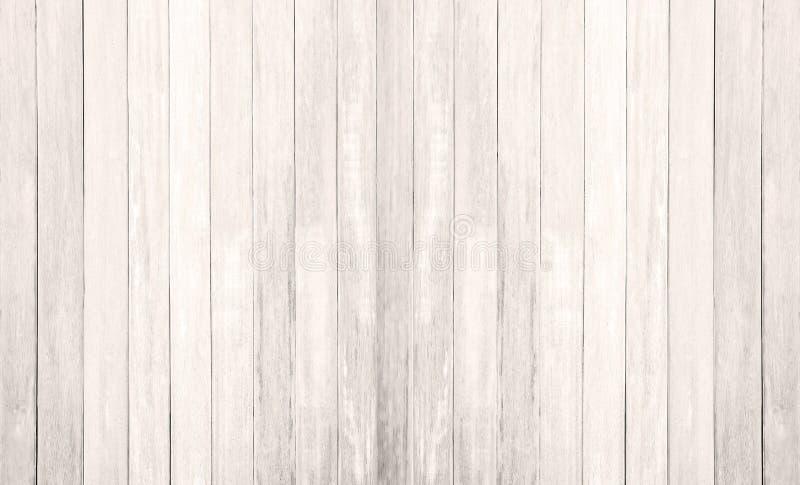 Arrière-plan de texture du plancher de bois blanc mur peint en pâte feuilletée à motif en plinthe; tablette de grains en carton g image libre de droits