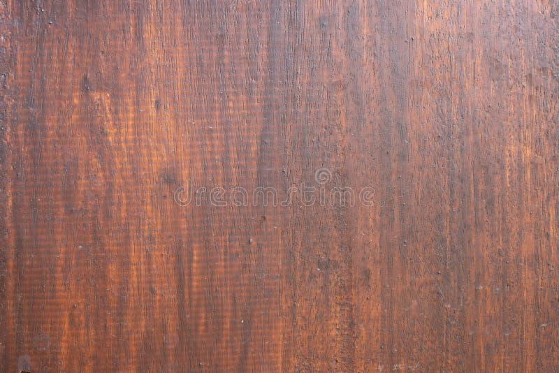 Arrière-plan de texture de surface en bois dur rustique brun, arrière-plan de motif naturel, matériau de conception images libres de droits