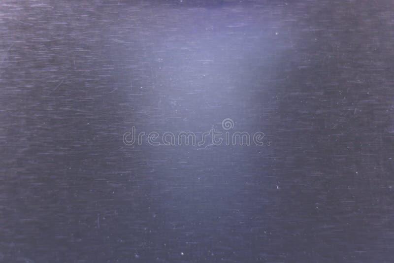 Arrière-plan en aluminium Fermeture de la texture en acier inoxydable photo stock