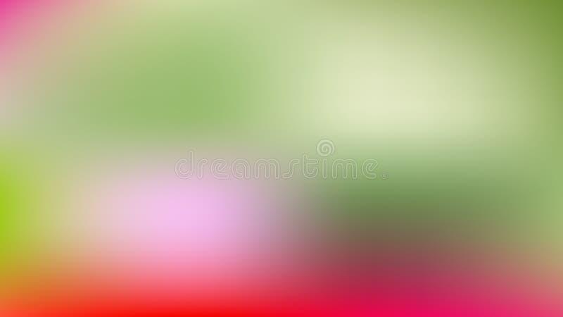 Arrière-plan flou rouge et vert illustration de vecteur