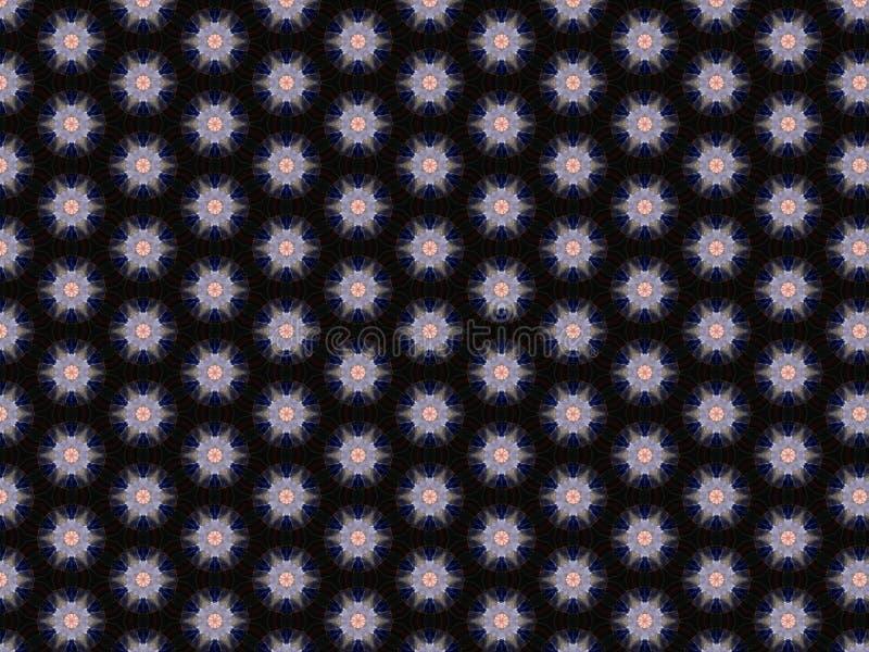 Arrière-plan satin bleu ornement graphique en toile arabesque élément textile coton formes géométriques matériaux de décoration photographie stock