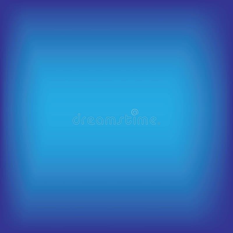 Arrière-sol en dégradé bleu illustration stock