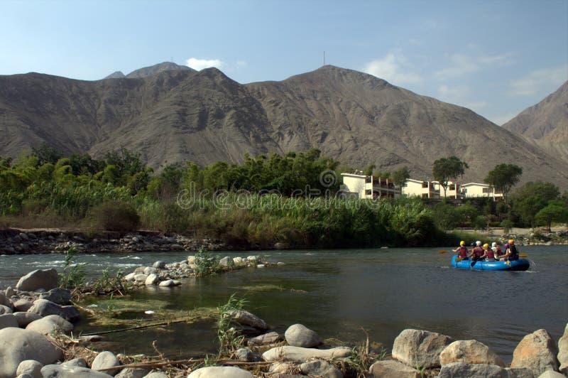 Arriesga en el río fotos de archivo libres de regalías