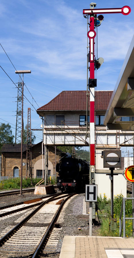 Download The Arrival of a Train stock image. Image of classic - 26577309