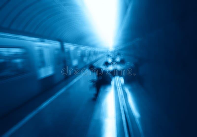 Arriving metro train motion blur transport background. Diagonal orientation vivid vibrant bright color spacedrone808 rich composition design concept element stock photos