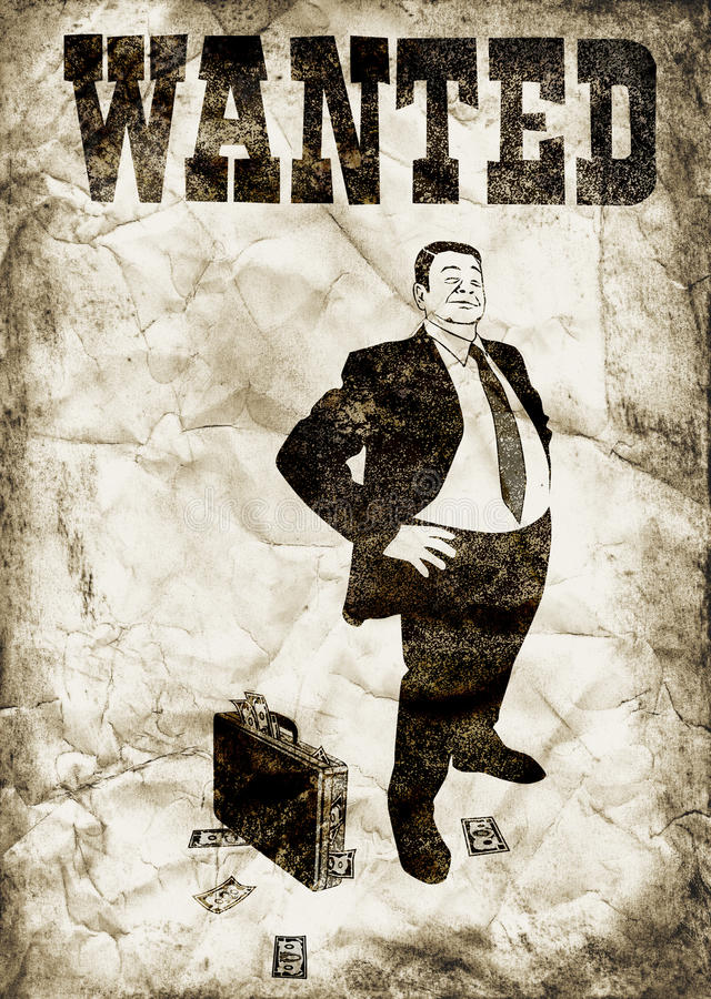 The Arrogant Banker Royalty Free Stock Images