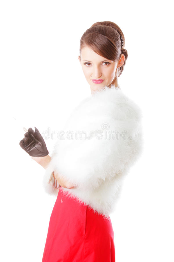 Arrogant Lady Stock Images