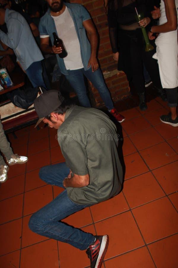 Arrombamento a dança fotografia de stock royalty free