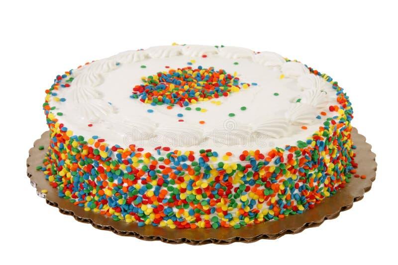 Arrosez le gâteau images stock