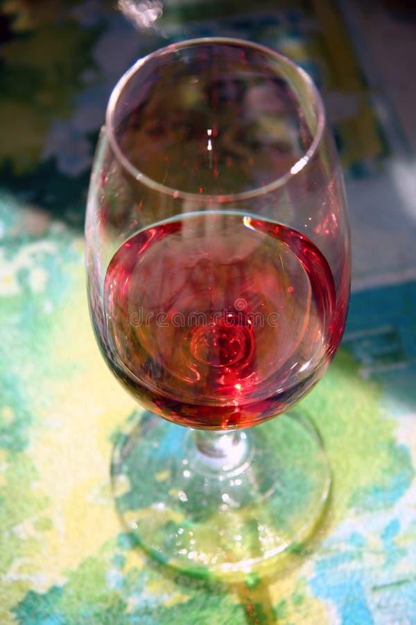 Arrossisce il vino fotografia stock