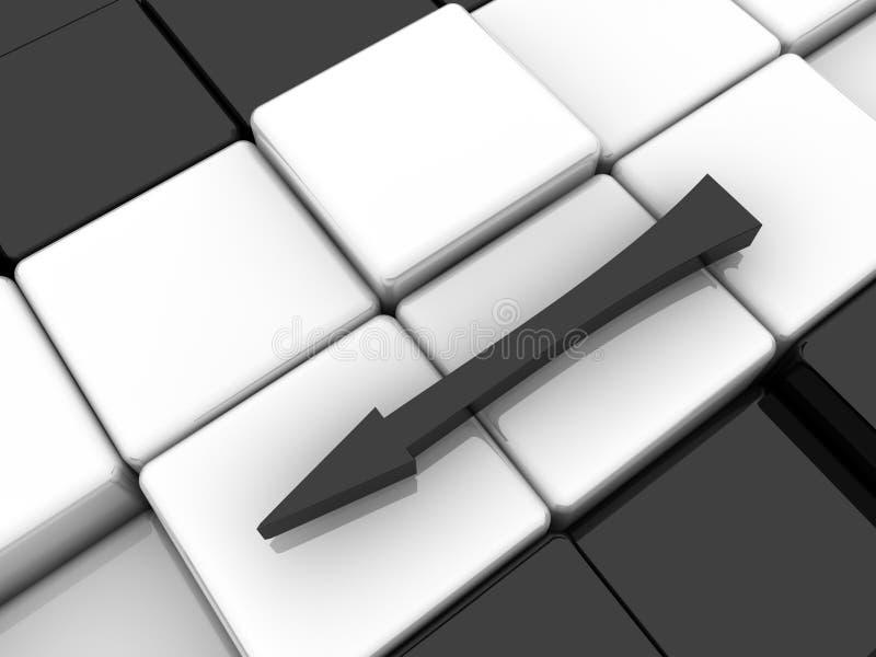 arrow иллюстрация штока