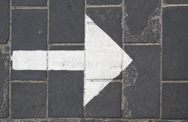 Download Arrow stock photo. Image of gray, asphalt, highway, course - 26639506