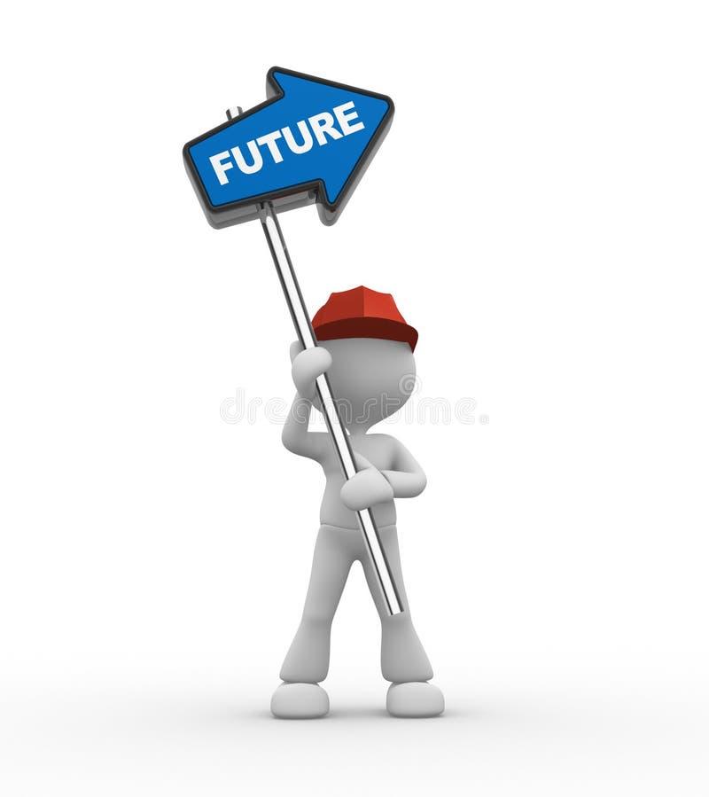 Download Arrow stock illustration. Image of decision, future, businessman - 29166681