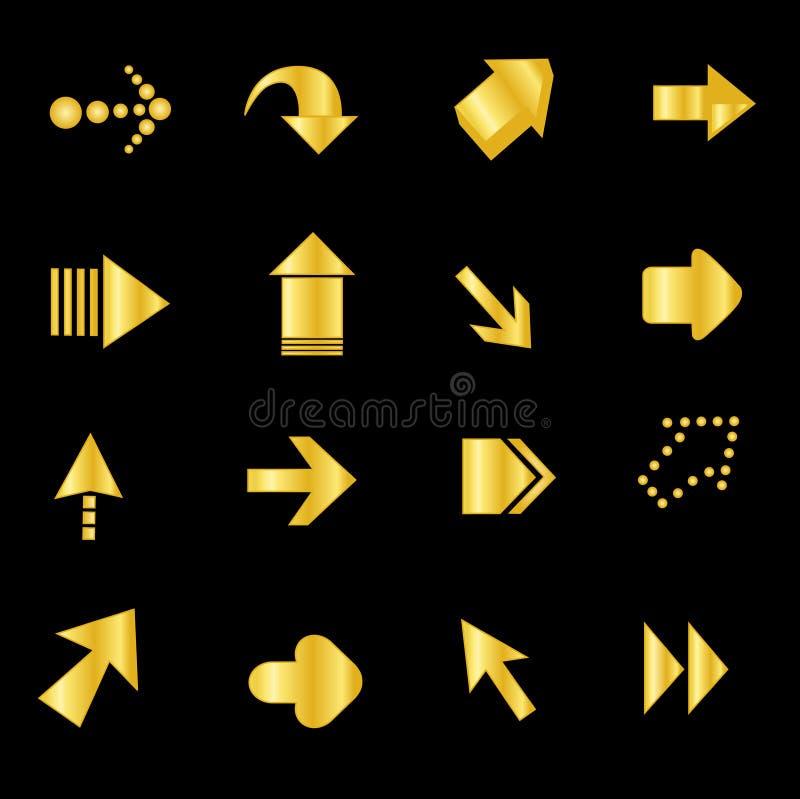 Download Arrow / Arrows stock vector. Image of gold, elegance - 24253115
