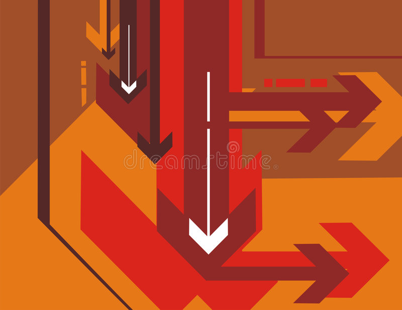 Download Arrow background series stock vector. Illustration of technical - 3118257