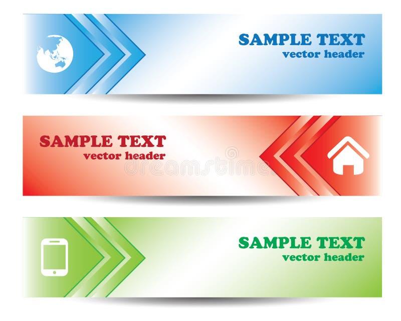 download arrow banner design stock illustration illustration of creative 74393557