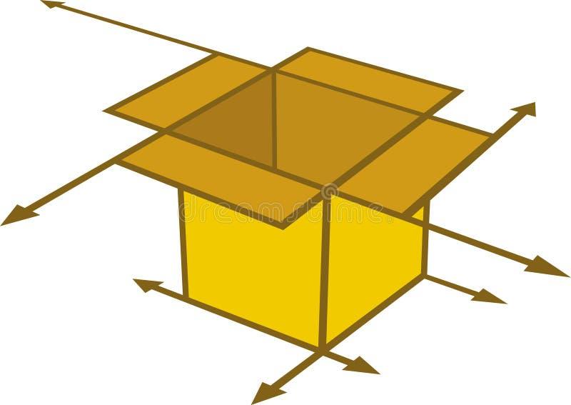 Download Arrow box stock vector. Image of idea, packaging, symbol - 5103195