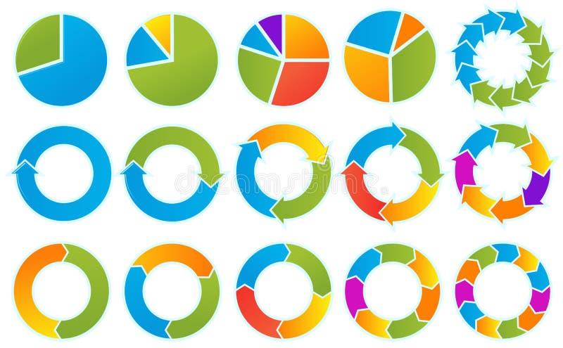Download Arrow circles stock vector. Image of movement, circle - 13601514