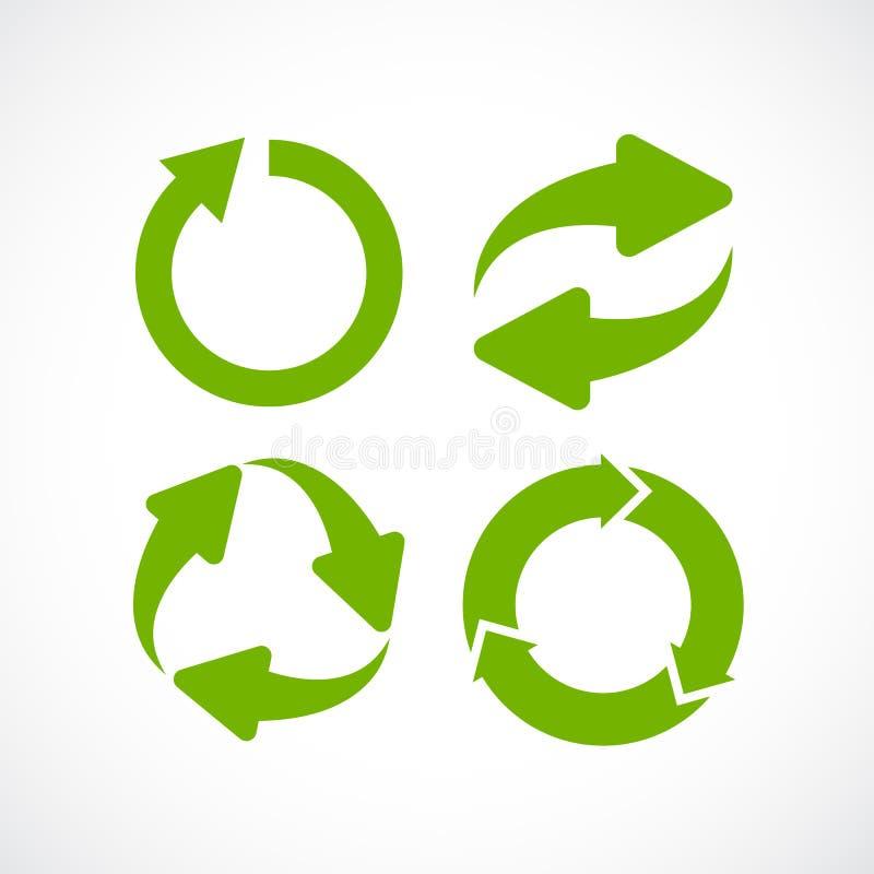 Arrow cycle icon vector illustration