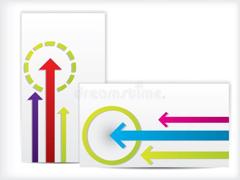 Download Arrow Design Business Cards Stock Vector - Image: 32311215
