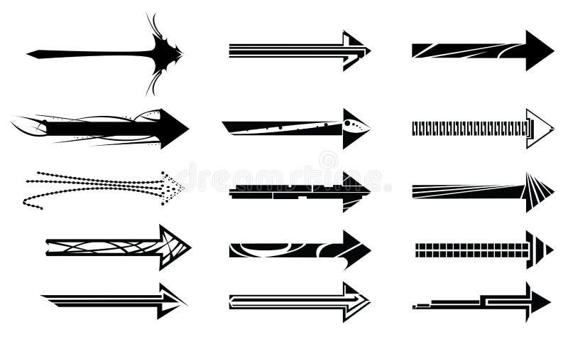 Download Arrow design elements stock vector. Illustration of symbol - 5192418