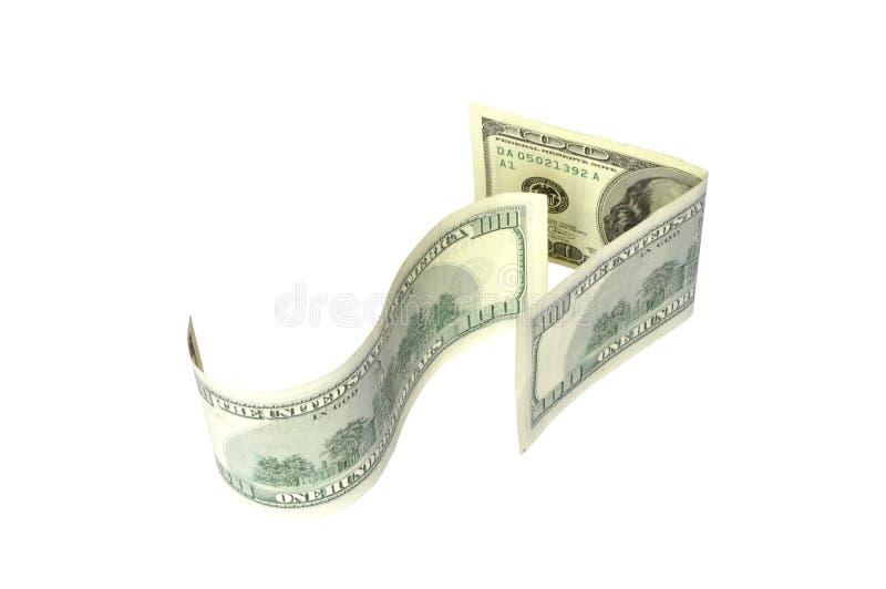 Arrow from the dollar