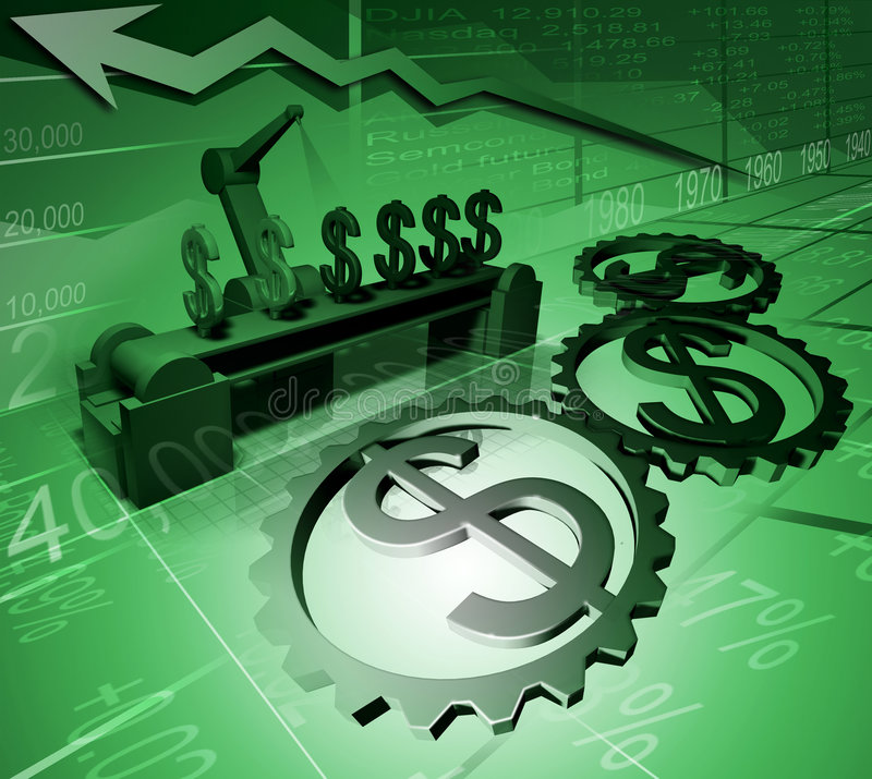 Download An arrow going up stock image. Image of market, gears - 2306391