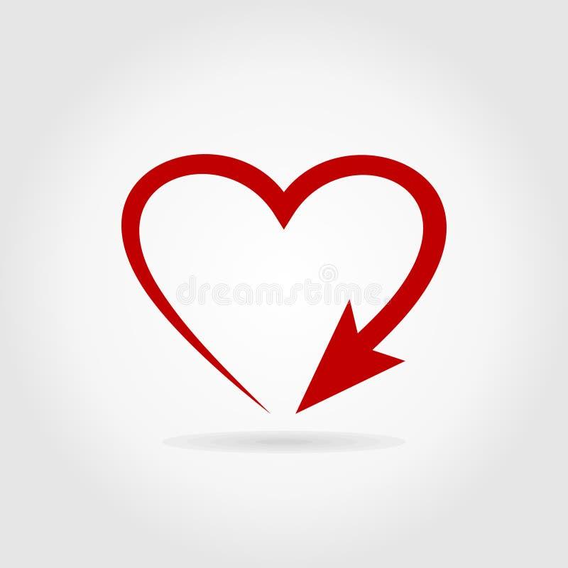 Free Arrow Heart Royalty Free Stock Photos - 38095298
