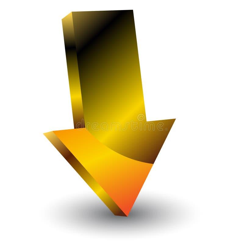 Arrow icon vector illustration