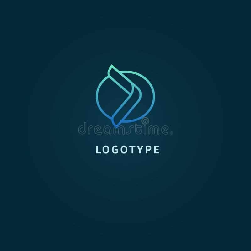 Arrow icon. Vector flat style illustration Abstract business logo template. Logo concept of Progress development, application, Bus vector illustration