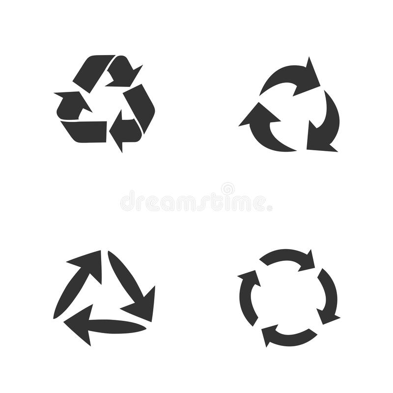 Arrow Icons in trendy flat style isolated on background. Modern contemporary solid plain flat minimal style.Vector illustration de vector illustration