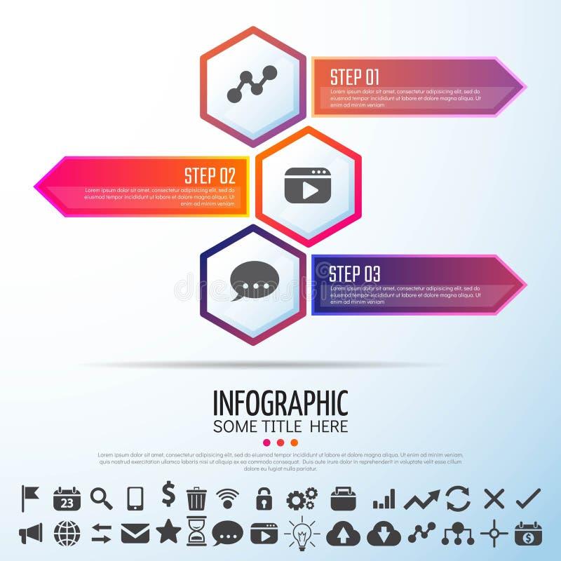 Arrow Infographics Design Template. Vector Illustration vector illustration