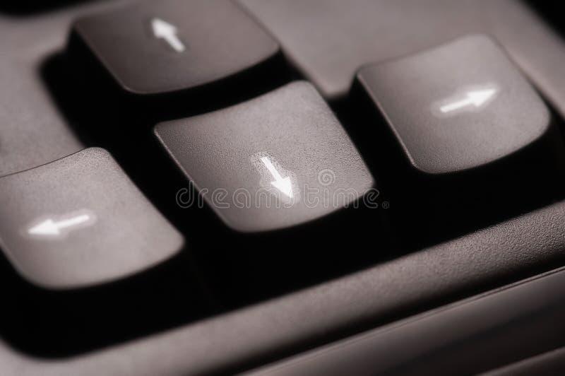 Arrow keys-2 stock photography
