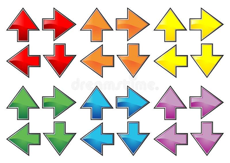 Arrow_sets_01 lizenzfreie abbildung