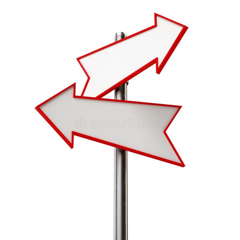 Download Arrow sign stock illustration. Image of billboard, direction - 36075699