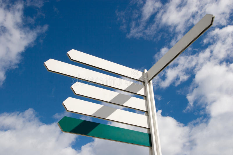 Download Arrow Signs stock photo. Image of frame, pole, destination - 16816872